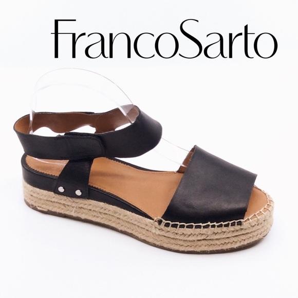 c5898f11eb3 FRANCO SARTO Oak Wedge Sandal